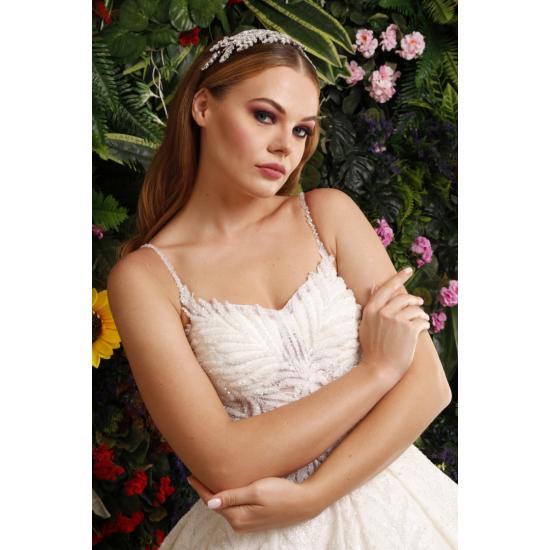 İnce Askılı Prenses Model Gelinlik